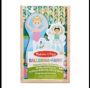Melissa & Doug Melissa & Doug Ballerina & Fairy Magnetic Dress-Up Play Set