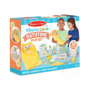 Melissa & Doug Melissa & Doug Mine to Love Changing & Bathtime Play Set