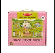 Melissa & Doug Melissa & Doug Natural Play Princess Fairyland Floor Puzzle 60pcs