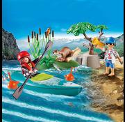 Playmobil Playmobil Starter Pack Park Kayak Adventure RETIRED