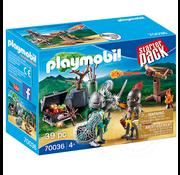 Playmobil Playmobil Starter Pack Knight's Treasure Battle RETIRED