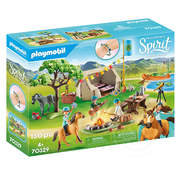 Playmobil Playmobil Spirit III Frontier Fillies Summer Campground