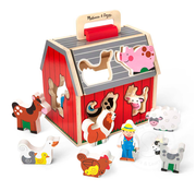 Melissa & Doug Melissa & Doug Take Along Sorting Barn