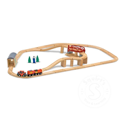 Melissa & Doug Melissa & Doug Swivel Bridge Train Set