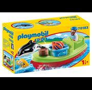 Playmobil Playmobil 123 Fisherman with Boat