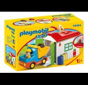 Playmobil Playmobil 123 Garbage Truck