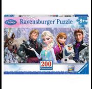 Ravensburger Ravensburger Frozen: Frozen Friends Panorama Puzzle 200pcs