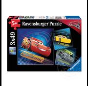 Ravensburger Ravensburger Disney Pixar Cars Cars 3 Puzzle 3 x 49pcs