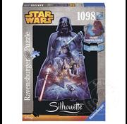 Ravensburger Ravensburger Star Wars Darth Vader Shaped Puzzle 1000pcs