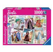 Ravensburger Ravensburger Barbie Around the World Puzzle 1000pcs