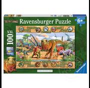 Ravensburger Ravensburger Dinosaurs Puzzle 100pcs XXL