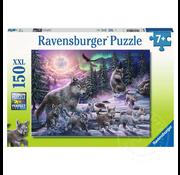 Ravensburger Ravensburger Northern Wolves Puzzle 150pcs XXL