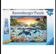 Ravensburger Ravensburger Orca Paradise System Puzzle 200pcs XXL