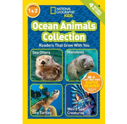 National Geographic National Geographic Readers Level 1 & 2: Ocean Animals Collection