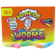 Warheads Worms 4oz Theatre Box