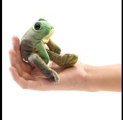 Folkmanis Folkmanis Sitting Frog Finger Puppet