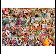 Cobble Hill Puzzles Cobble Hill Beach Scene Puzzle 1000pcs