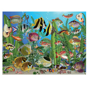Cobble Hill Puzzles Cobble Hill Aquarium Easy Handling Puzzle 275pcs