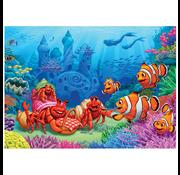 Cobble Hill Puzzles Cobble Hill Clownfish Gathering Tray Puzzle 35pcs