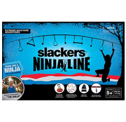 Slackers Slackers NinjaLine 30' Intro Kit with 7 Hanging Obstacles
