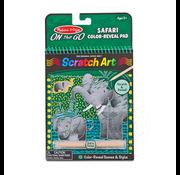 Melissa & Doug Melissa & Doug On the Go Scratch Art Color Reveal - Safari