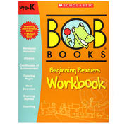 Scholastic Bob Books: Beginning Readers Workbook Grade Pre-K