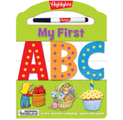 Highlights My First ABC Dry Erase Activity Book