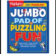 Highlights Jumbo Pad of Puzzling Fun