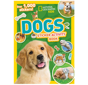 National Geographic National Geographic Kids Amazing Dogs Sticker Activity Book