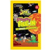 National Geographic National Geographic Kids Funny Fill-In My Space Adventure