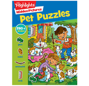 Highlights Hidden Pictures Pet Puzzles