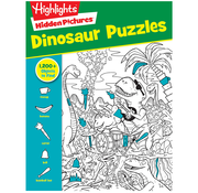 Highlights Hidden Pictures Dinosaur Puzzles
