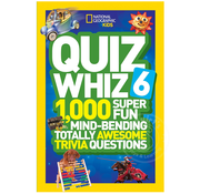 National Geographic National Geographic Kids Quiz Whiz 6