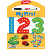 Highlights My First 123 Dry Erase Activity Book