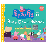 Penguin Peppa Pig and the Busy Day at School