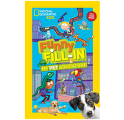National Geographic National Geographic Kids Funny Fill-In My Pet Adventure