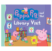 Penguin Peppa Pig and the Library Visit