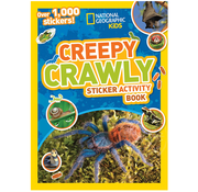 National Geographic National Geographic Kids Creepy Crawly Sticker Activity Book