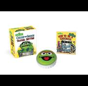 Running Press Sesame Street Oscar the Grouch Talking Button