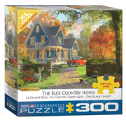 Eurographics Eurographics The Blue Country House XL Family Puzzle 300pcs