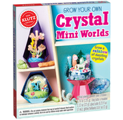 Klutz Klutz Grow Your Own Crystal Mini Worlds