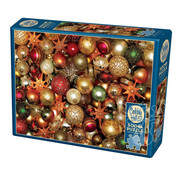 Cobble Hill Puzzles Cobble Hill Christmas Balls Puzzle 500pcs