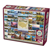 Cobble Hill Puzzles Cobble Hill National Parks of the United States Puzzle 2000pcs
