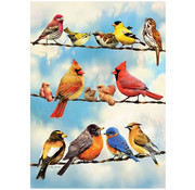 Cobble Hill Puzzles Cobble Hill Blue Sky Birds Tray Puzzle 35pcs