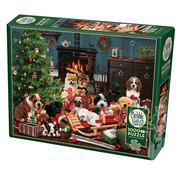 Cobble Hill Puzzles Cobble Hill Christmas Puppies Puzzle 1000pcs