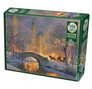 Cobble Hill Puzzles Cobble Hill Winter in the Park Puzzle 1000pcs