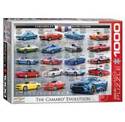 Eurographics Eurographics Chevrolet Camaro Evolution Puzzle 1000pcs