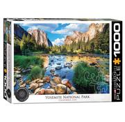 Eurographics Eurographics Yosemite National Park, California Puzzle 1000pcs