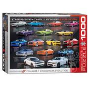 Eurographics Eurographics Dodge Charger/Challenger Evolution Puzzle 1000pcs