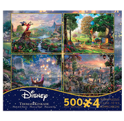 Ceaco Ceaco Thomas Kinkade Disney Dreams Puzzle 4 x 500pcs